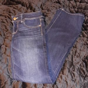 American Eagle Outfitters slim boot Jean's. Size:8